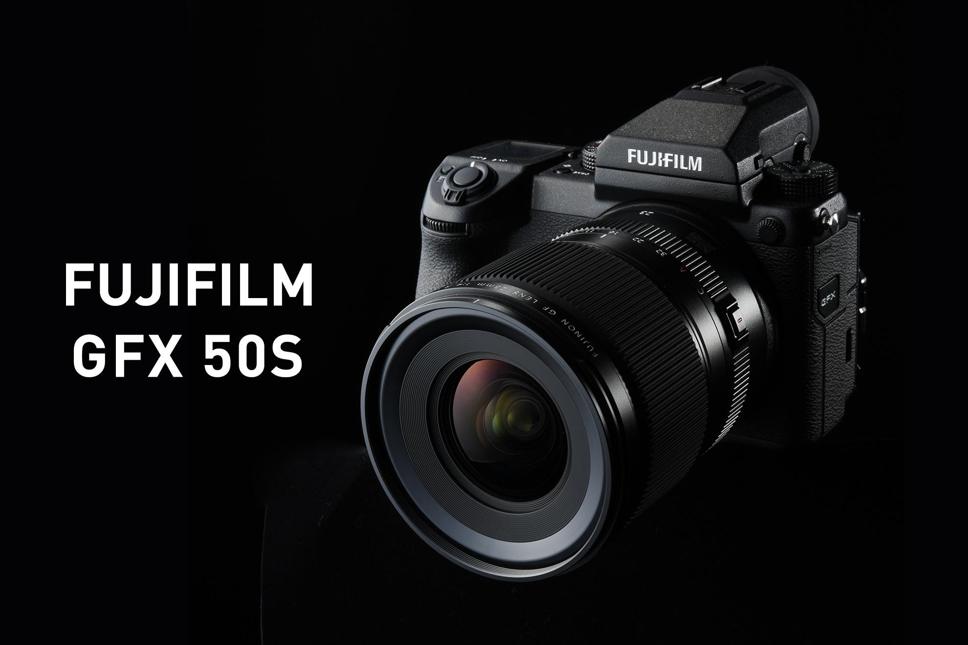 FUJIFILM GFX50S