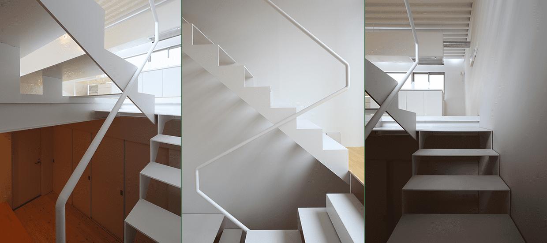 階段の撮影方法